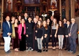 Concerto degli allievi dello Spontini in onore di S.E. Rev.ma Mons. Giovanni D'Ercole