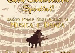 """Saggio Finale degli Allievi di musica e danza dell'Istituto """"Gaspare Spontini"""""""