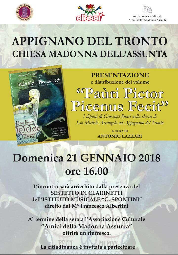 Paùri Pictor Picenus Fecit