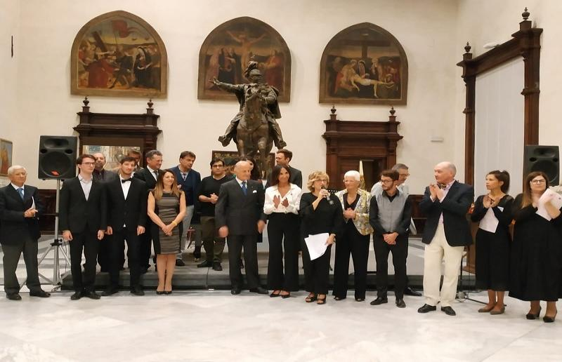"""Premiazione vincitori 2ª edizione concorso """"Poesia in musica: verso l'Assoluto di Mauro Crocetta"""""""