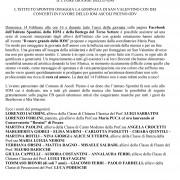 Microsoft Word - COMUNICATO CONCERTO SAN VALENTINO ISTITUTO SPON